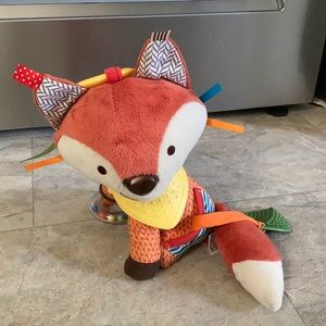 Skip Hop Fox Baby Toy Teether Taggy Rattle